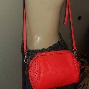 Neon crossbody purse